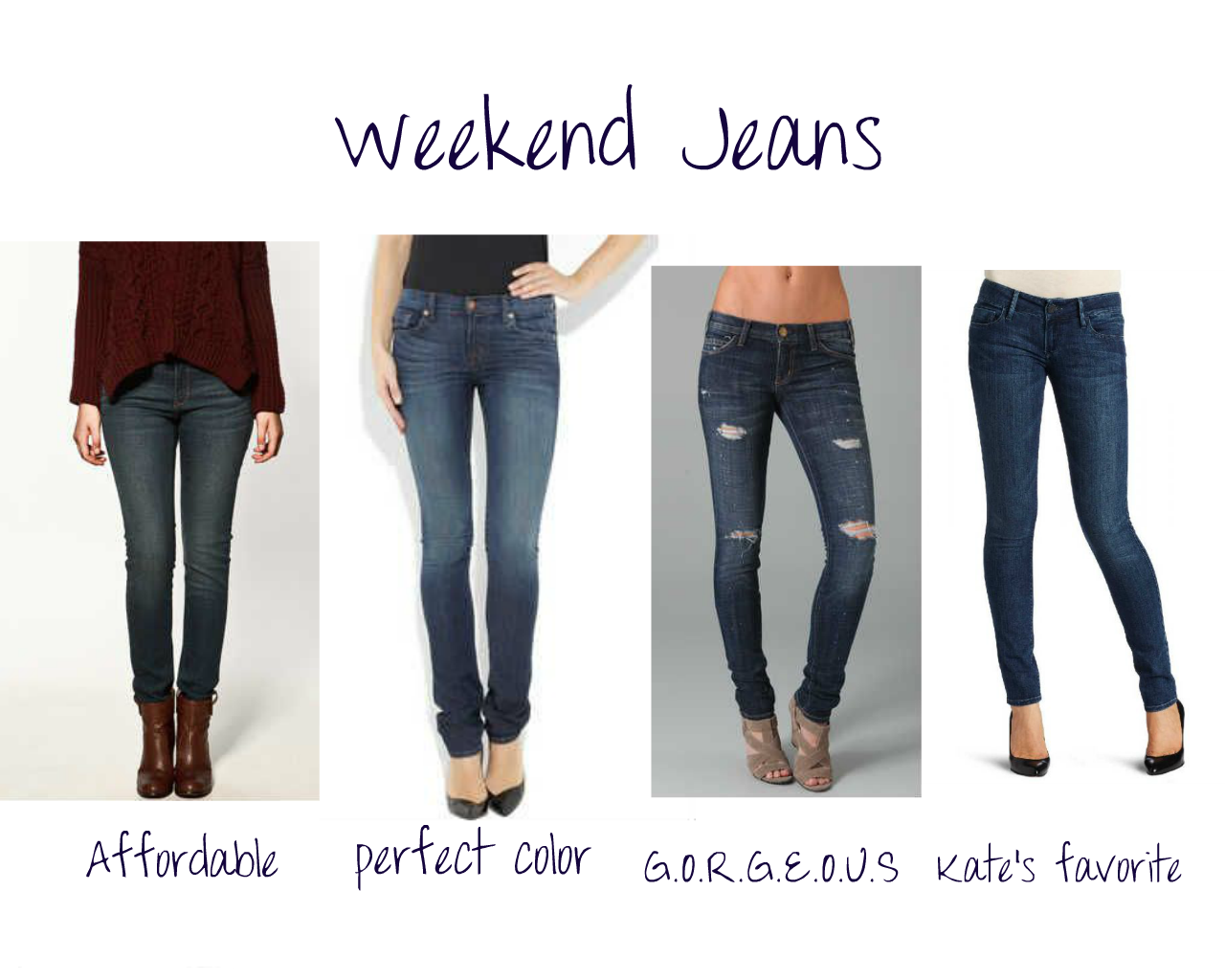 How To Wear Skinny Jeans - Jeans Am