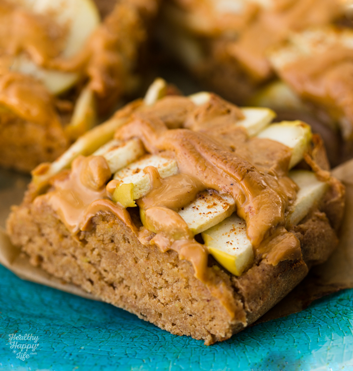 Green Apple Spice, Peanut Butter Oatmeal Bars