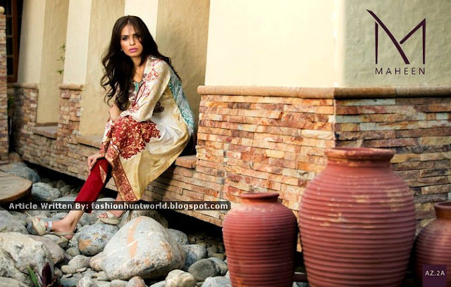 Al-Zohaib Presenting Maheen Tunic Collection '15 For Midsummer
