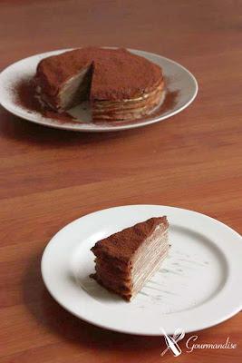 Gourmandise crepe de Matcha e chocolate