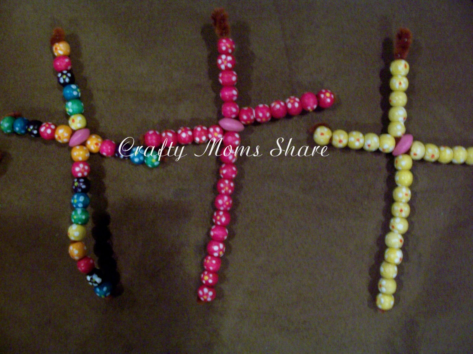 crafty beaded crosses