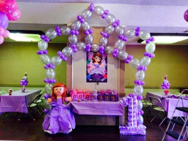 Balon dekorasi ulang tahun anak tema princess