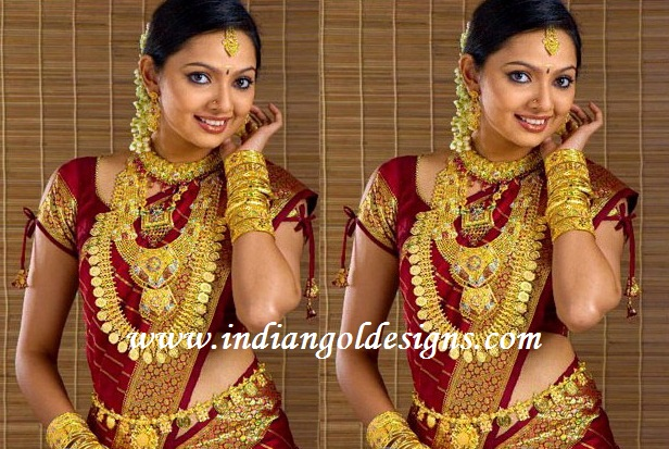 Gisys blog South Indian Bridal jewellery Ornaments Long Necklace