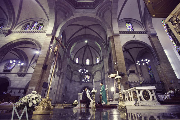 If You Believe That Your Wedding Church Is A Foreshadowing Of Marriage Then Book The Manila Cathedral S Official Name Minor