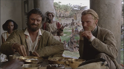 Patrick Bergin and Iain Glen Mountains of the Moon 1990