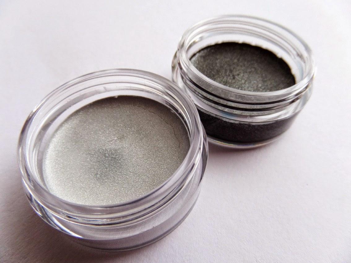 [Review] silberner Eyeliner - metallic silver von p2