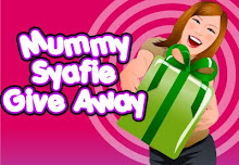 Mummysyafie Give Away..