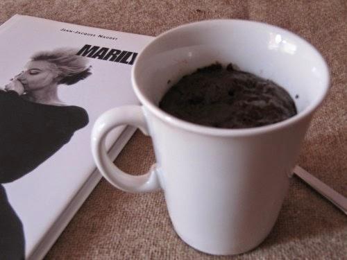 Presentación Mug Cake de chocolate