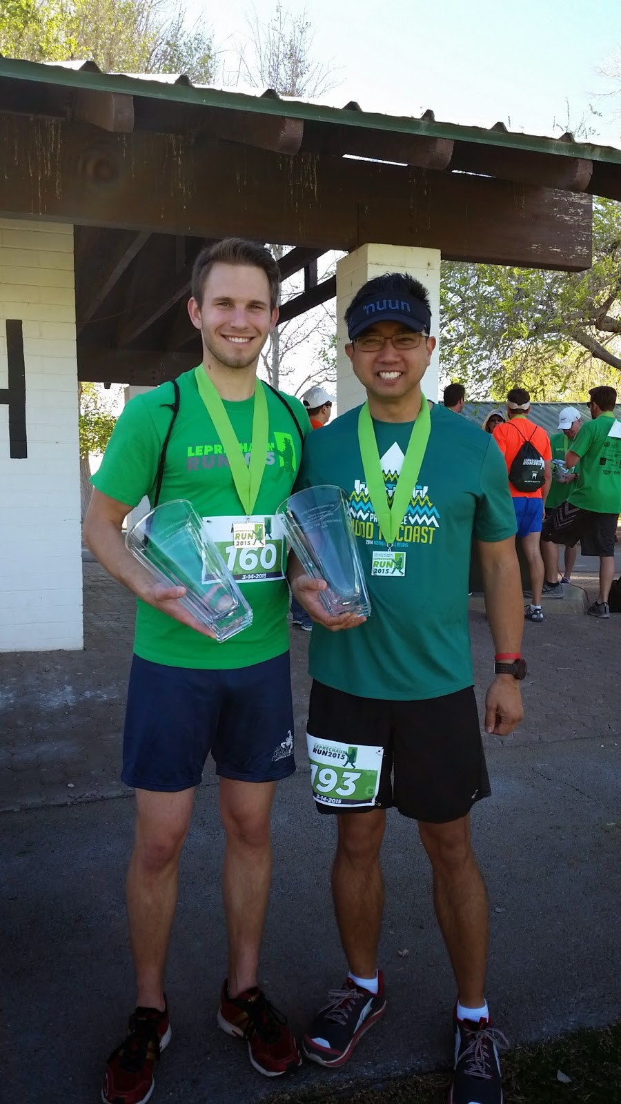 Catch the Leprechaun 5k Division Winners