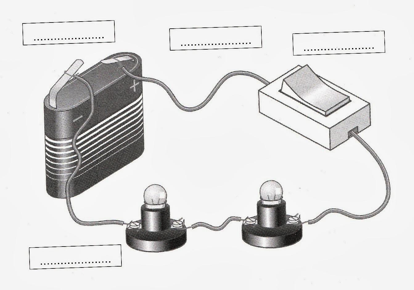 Circuito Electrico Simple : Pcpi informática méntrida: ejercicios de electricidad 1