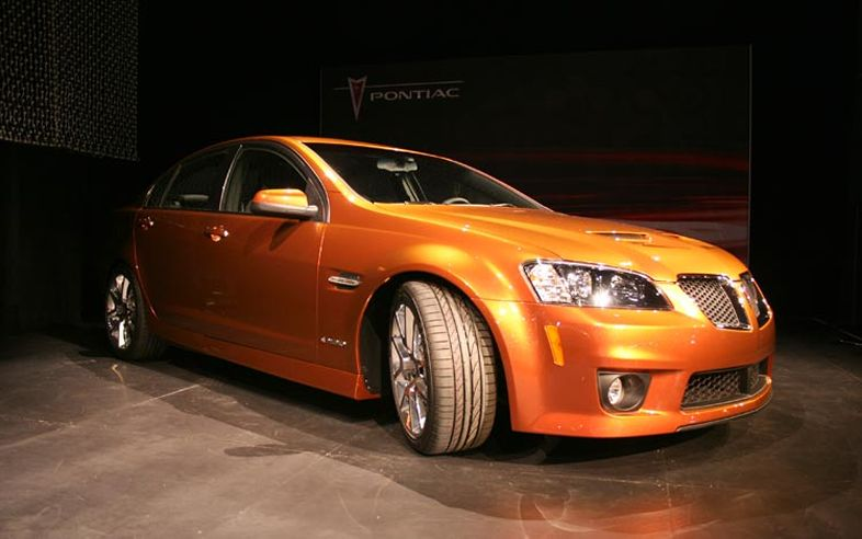 2008 Pontiac G8 Gxp Automatic Related Infomation