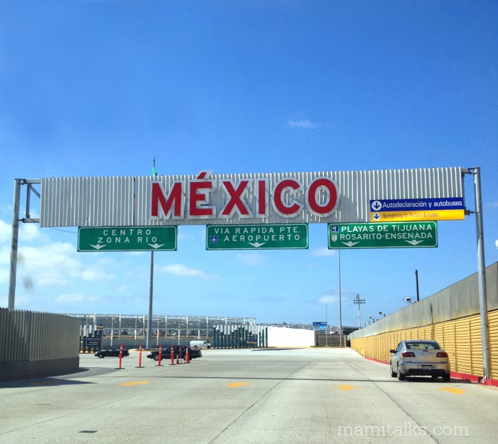 From San Diego to Mexico