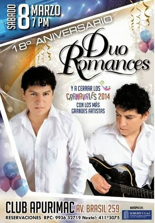 aniversario duo romances