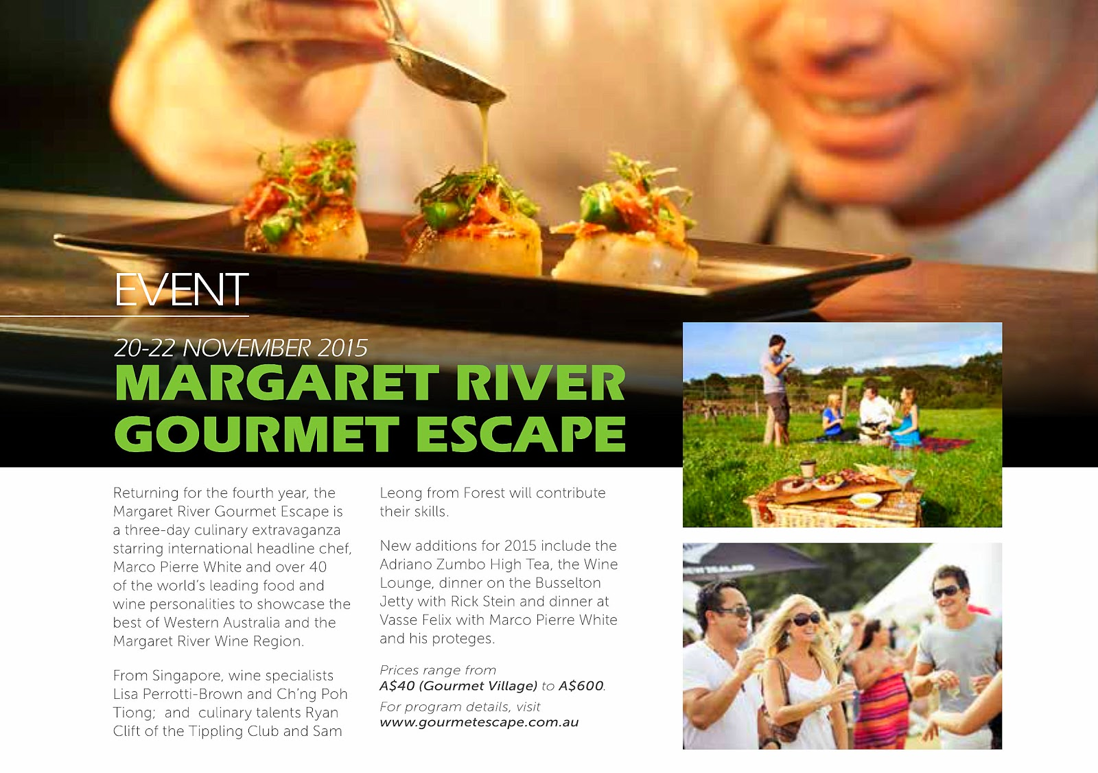 Eat drink buy wa foodie adventures with chef wan or free - Chef gourmet 4000 ...