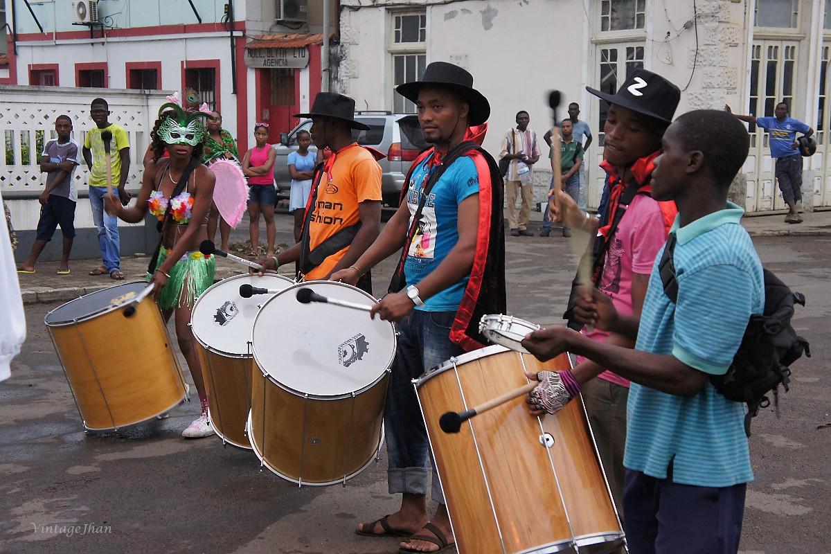 Carnival in São Tomé聖多美嘉年華