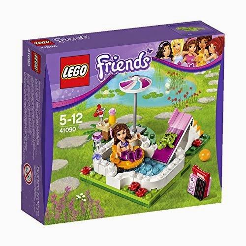 JUGUETES - LEGO Friends  41090 Piscina en el Jardín de Olivia  Producto Oficial 2015 | Edad: 5-12 años