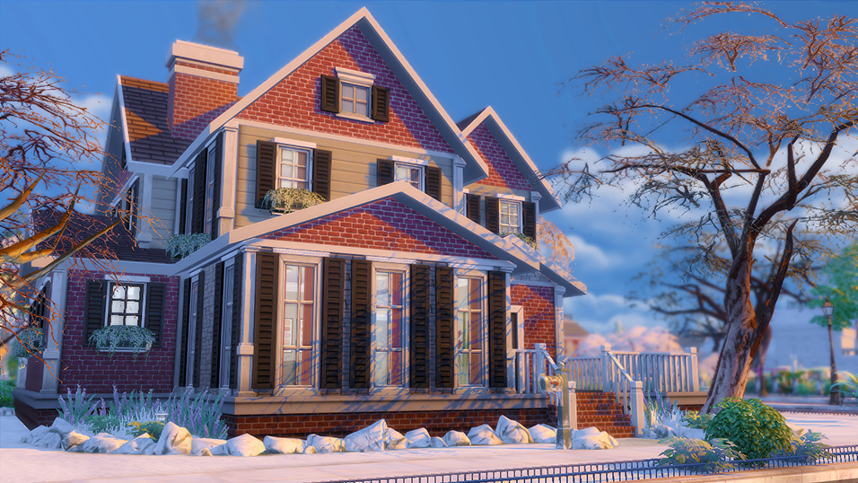 My Sims 4 Blog Covington Legacy House By Laenyrie