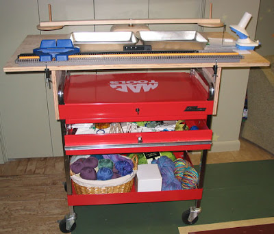 Bond Knitting Machine Table