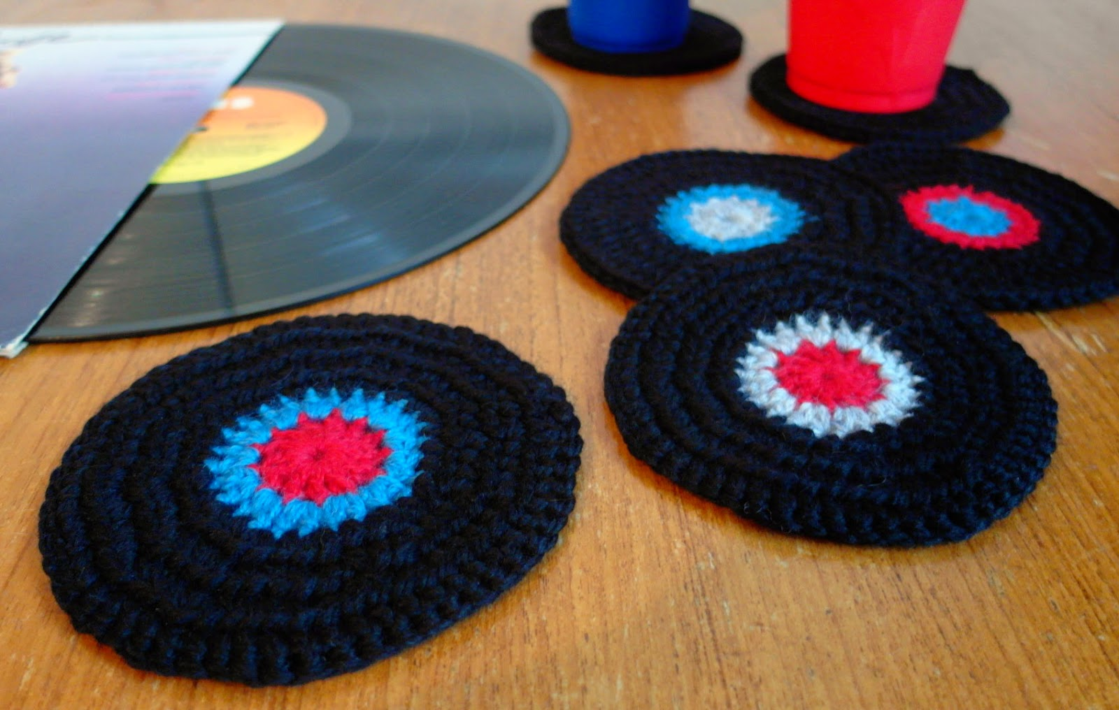 baroque purls: Free pattern: On the Record