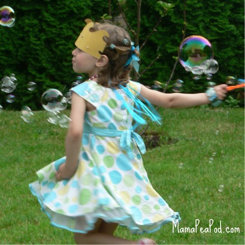 party games blowing bubbles mermaid birthday