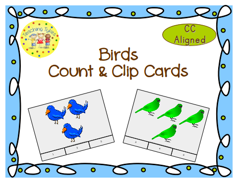 http://www.teacherspayteachers.com/Product/Birds-Count-Clip-Cards-Common-Core-Aligned-903109