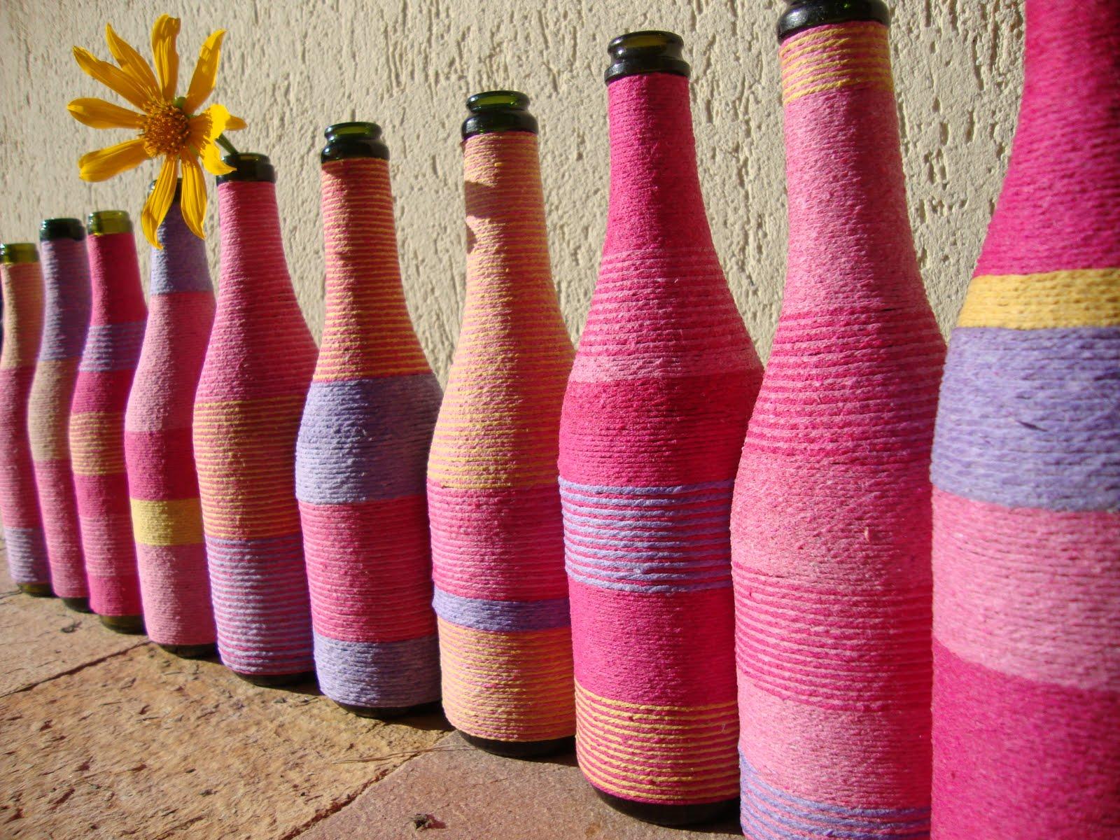 Recriando Artes Manuais : reutilizando garrafas de vidro! #7E1C27 1600x1200