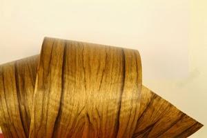 Du v ritable bois en rouleau souple flexible auto adh sif vernis pour la d coration - Placage bois adhesif ...