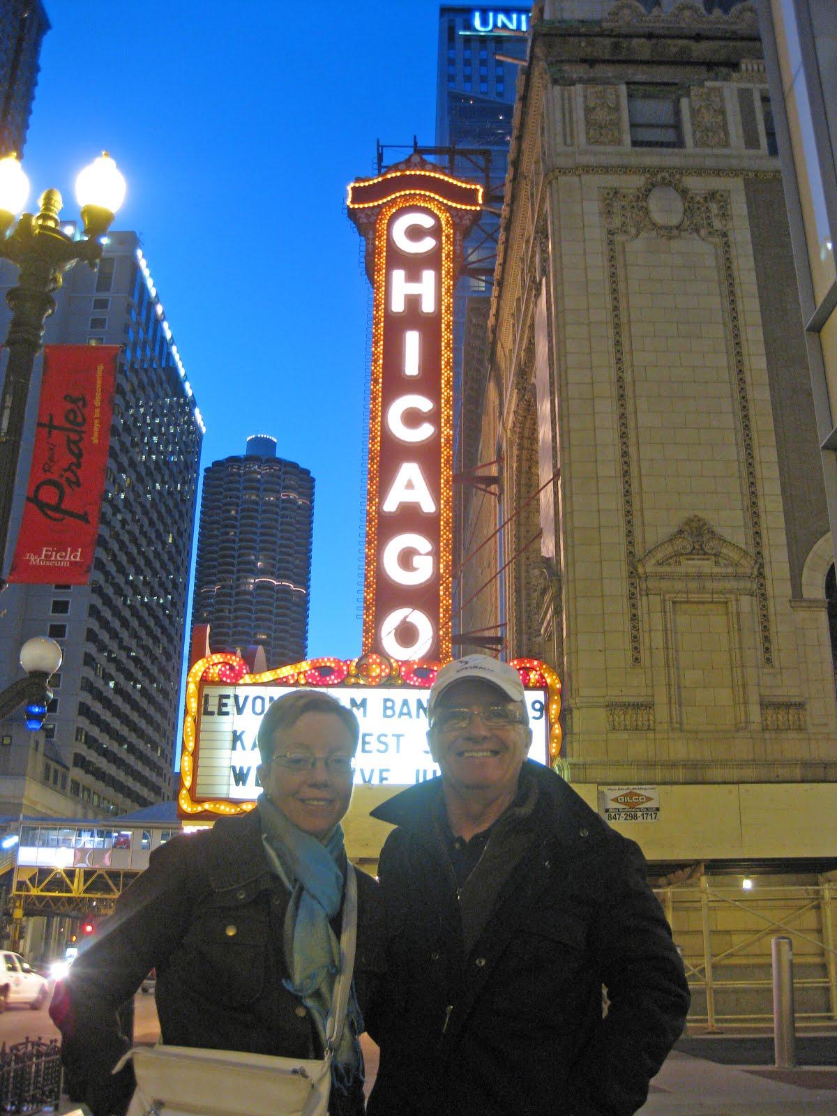 Chicago de noche.