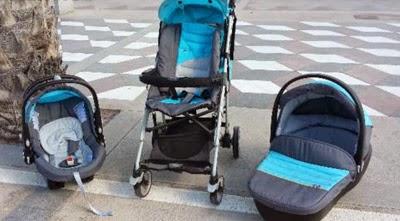 Carrito de bebé marca Chicco Alicante usado
