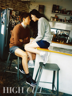 Sulli and Nam Joo Hyuk - High Cut Magazine Vol.156