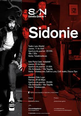 Sidonie Teatro Lara Madrid 11 de Abril