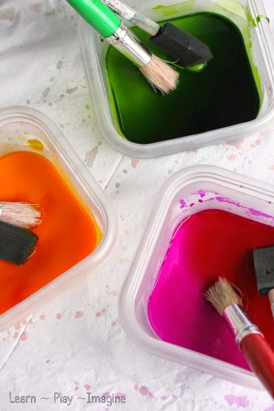 Baking soda paint recipe