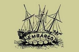 definisi embargo