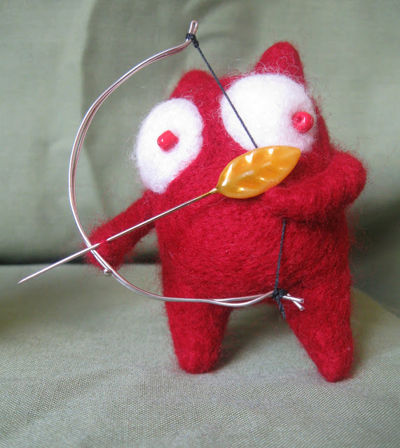 Filipe the Archer by Friday Felts from flickr (CC-NC-ND)