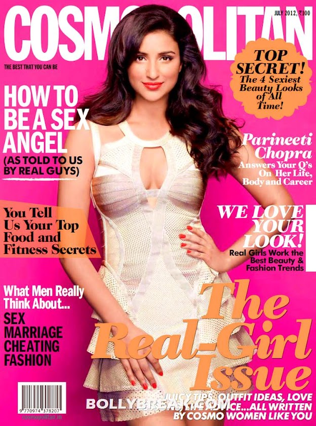 Parineeti Chopra Cosmopolitan Magazine  