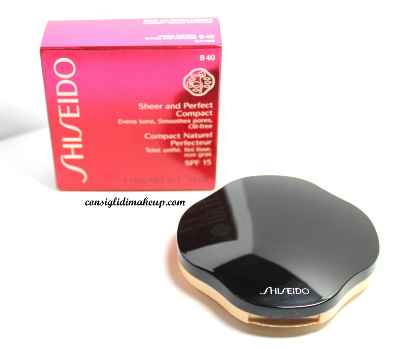 sheer and perfect compatto shiseido