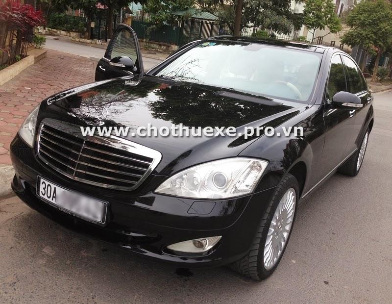 Cho thuê xe cưới Mercedes S550 Vip tại Hà Nội 1