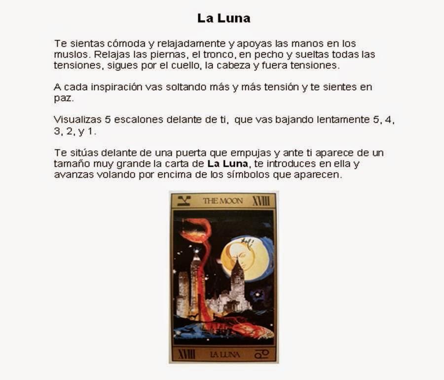 Meditaciones con el Tarot. La Luna