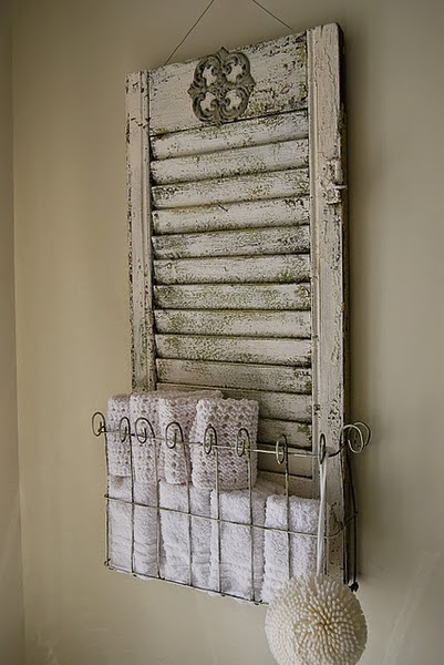 Bonito porta toallas quiero m s dise o - Porta toallas para bano ...