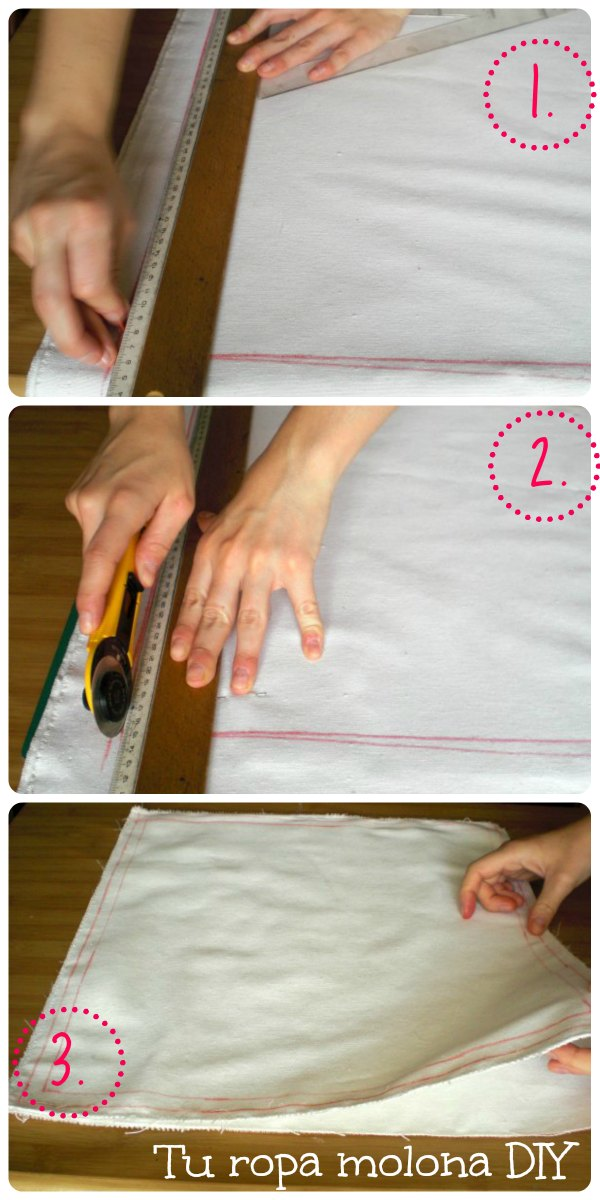 Medimos, cortamos y cosemos