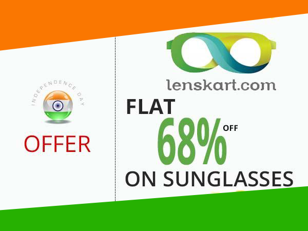 Lenskart Independence Day Special Offers and Disounts