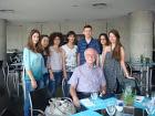 Με τον καθηγητή του ΜΙΤ κ. Γιώργο Στεφανόπουλο