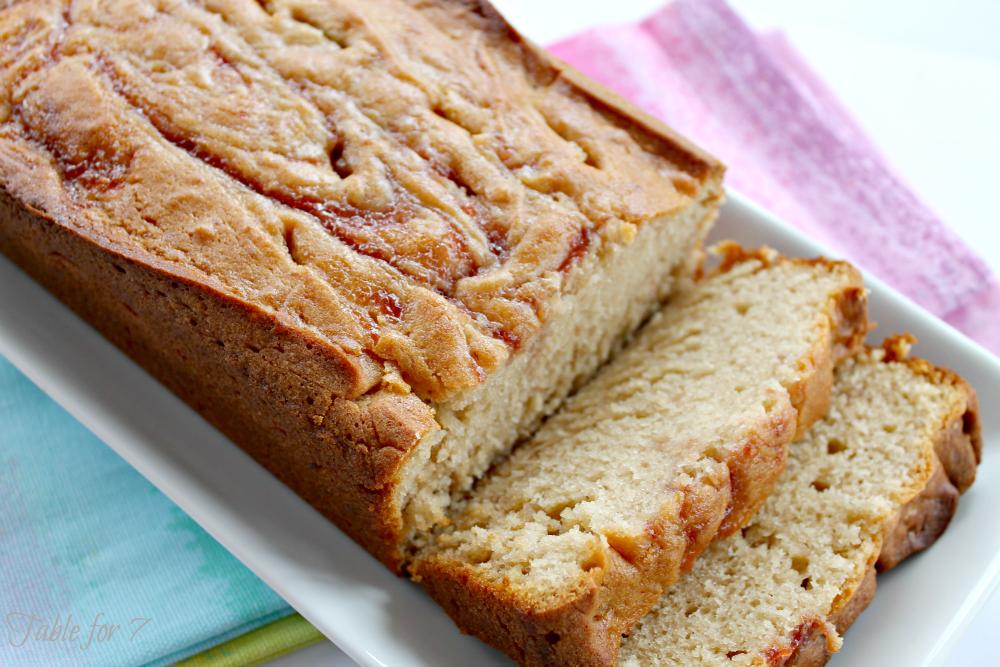 Strawberry Quick Bread Recipe Strawberry Jam Quick Bread