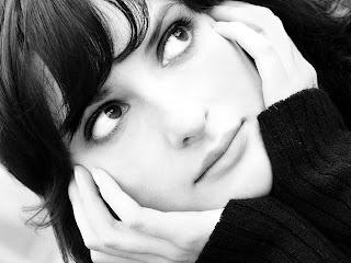 la inocencia de la mirada de una mujer