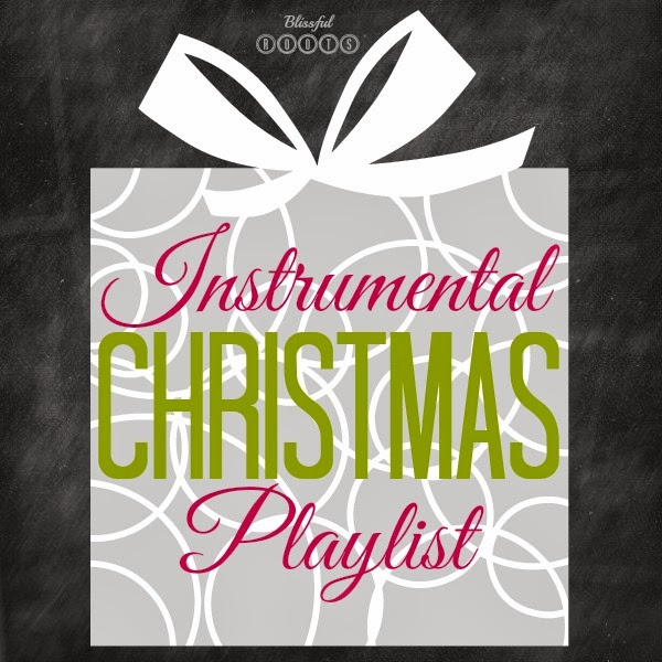 instrumental christmas playlist on spotify from blissful roots