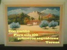 PREMIO DE TERESA A SUS 100 SEGUIDORES