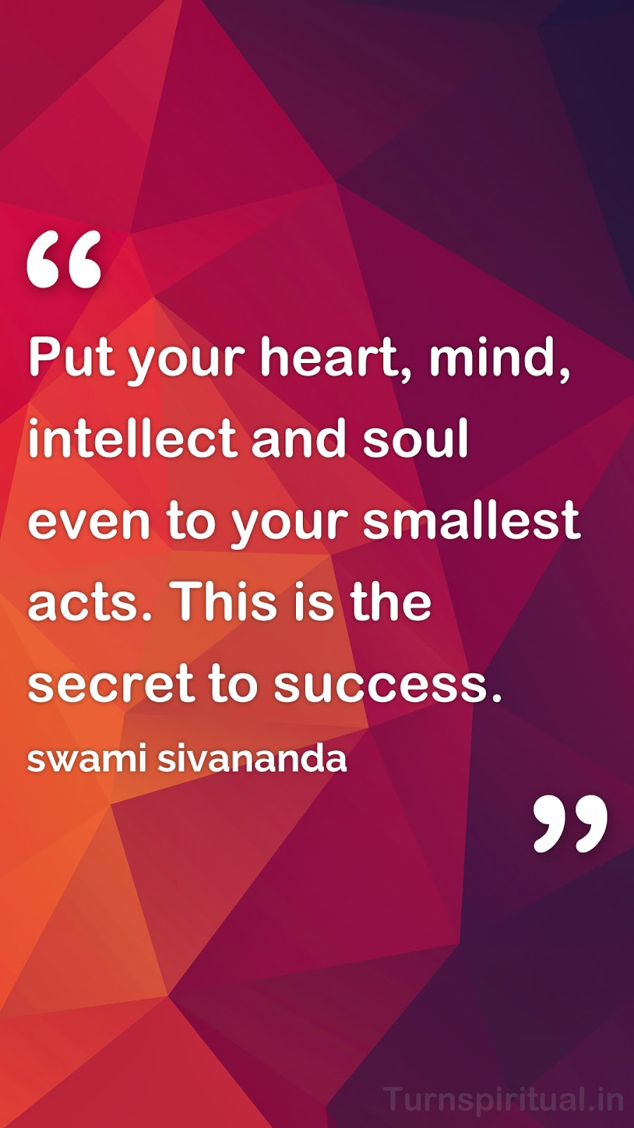 Good Morning 3d Source · 6 Lowpoly HD mobile wallpapers of Swami Sivananda Quotes Free Download Turnspiritual in