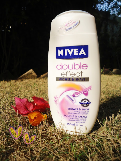 Nivea Double Effect Shower & Shave