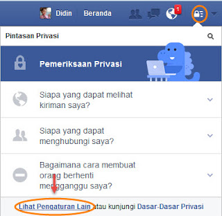 cara menonaktifkan akun facebook anda