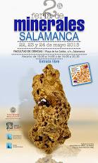 2ª FERIA DE MINERALES.SALAMANCA
